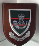 Rifles Wall Plaque